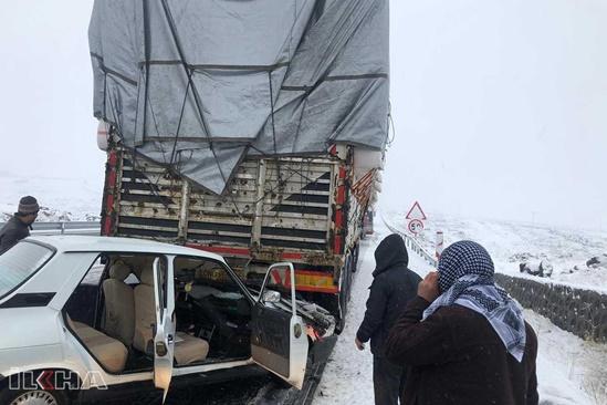 Siverek- Diyarbakır karayolunda kaza: 4 yaralı