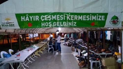 Siverek'te fakir aileler yararına kermes açıldı