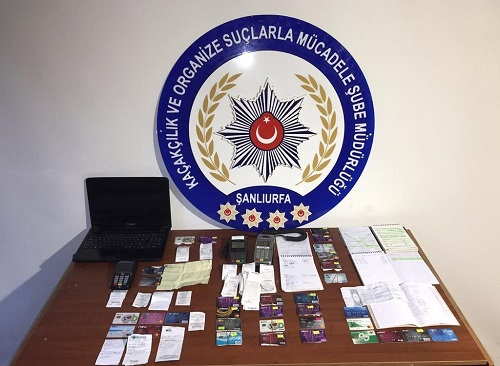 Şanlıurfa'da tefeci operasyonu: 8 tutuklama