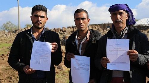 Mezra köylüleri yol, elektrik ve su sorunu ile perişan oldu