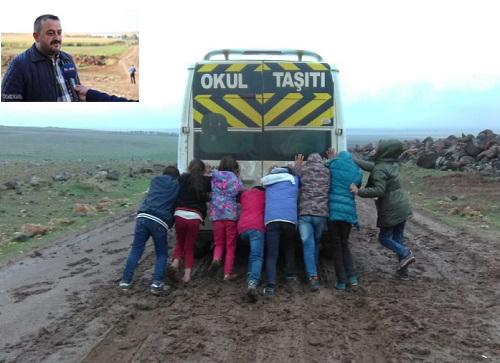 """""""Yollarımız yapılmazsa çocuklarımızı okula göndermeyeceğiz"""""""