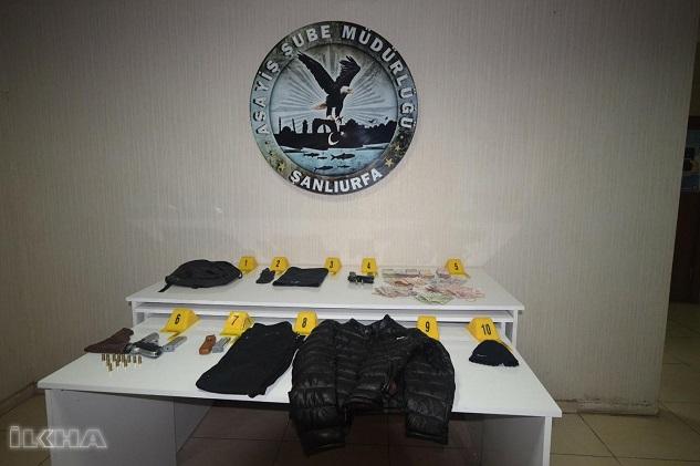 Şanlıurfa'da banka soyguncusu yakalandı