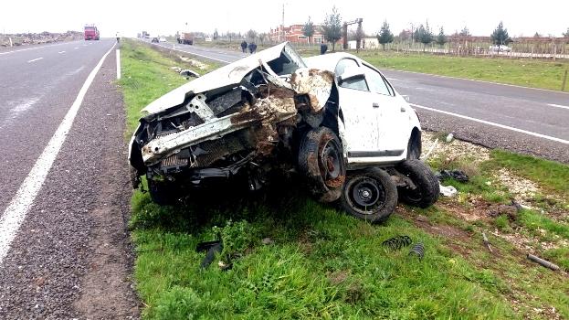 Siverek'te trafik kazası: Bir yaralı