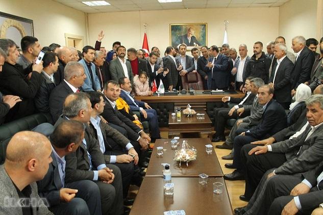 Viranşehir Belediyesinde devir teslim töreni