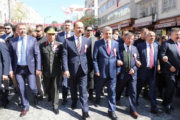 Urfa'nın düşman işgalinden kurtuluşu kutlanıyor