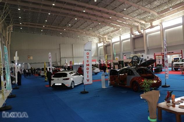 Şanlıurfa'da İnşaat ve Otomotiv Fuarı açıldı