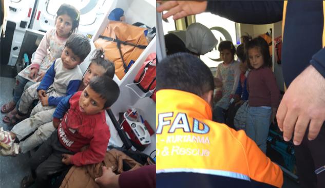 Şanlıurfa'da kaybolan 4 çocuk bulundu
