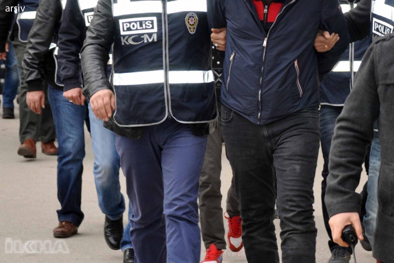 PKK propagandası yapan 7 kişi gözaltına alındı