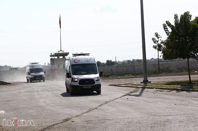 Akçakale'de sınır karakoluna havanlı saldırı