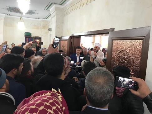 Gürüz Camii ibadete açıldı