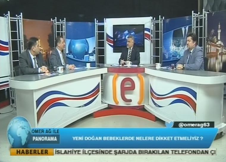 Edessa TV depreme canlı yayında yakalandı
