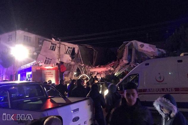 Depremde hayatını kaybedenlerin sayısı 14'e yükseldi