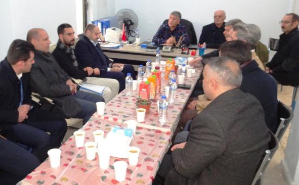 Gülpınar'dan SİVİL-DER'e ziyaret