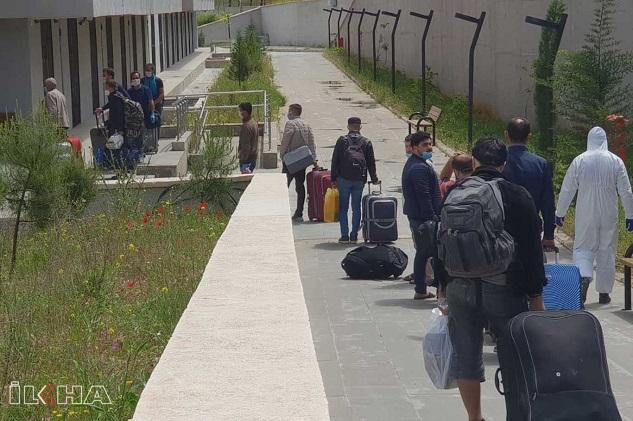 Irak ve Cezayir'den getirilen 373 kişi Şanlıurfa'da karantinaya alındı