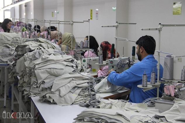 Siverek'te tekstil firması çalışanları karantina altına alındı