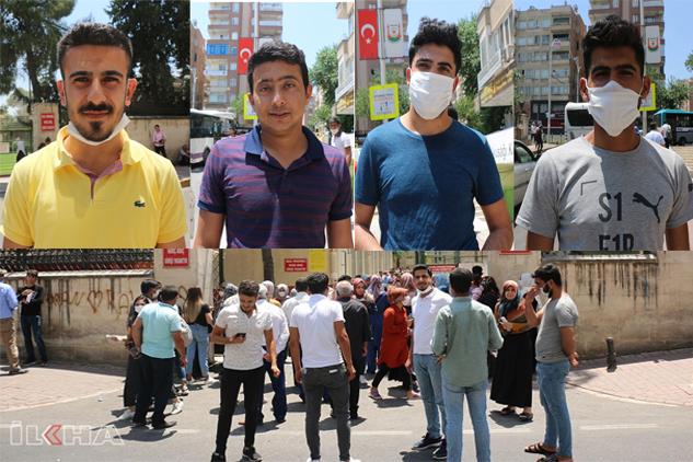 Şanlıurfa'da öğrenciler önce sıcakla yarıştı