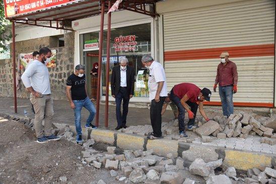 Başkan Aydın; Esnafı ziyaret ederek çalışmaları yerinde inceledi