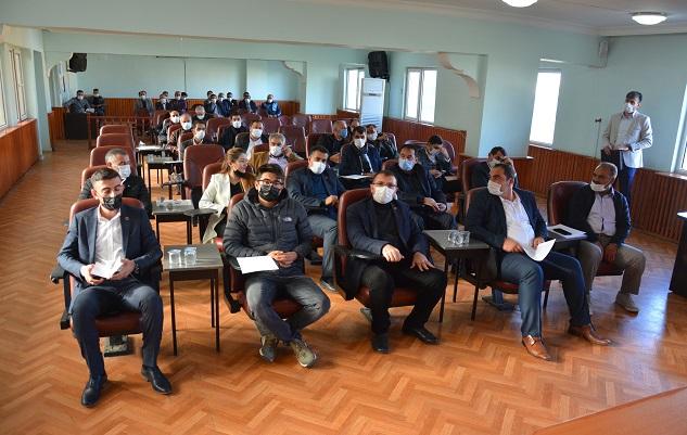 Başkan Çakmak ilk meclis toplantısını yaptı
