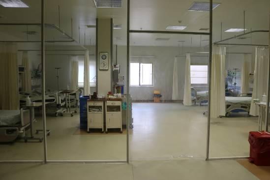 Siverek'te 6 yataklı yeni pandemi yoğun bakım açıldı