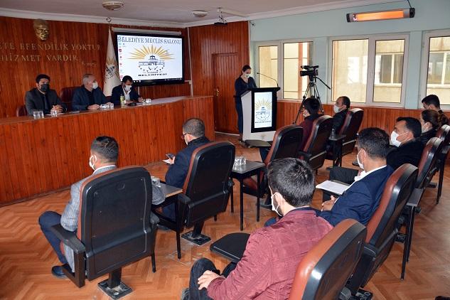 Siverek Belediyesi şubat ayı meclis toplantısı yapıldı