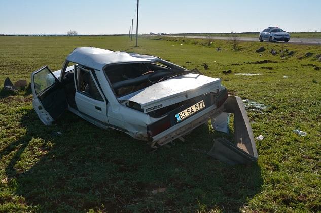 Siverek'te trafik kazasında 5 kişi yaralandı