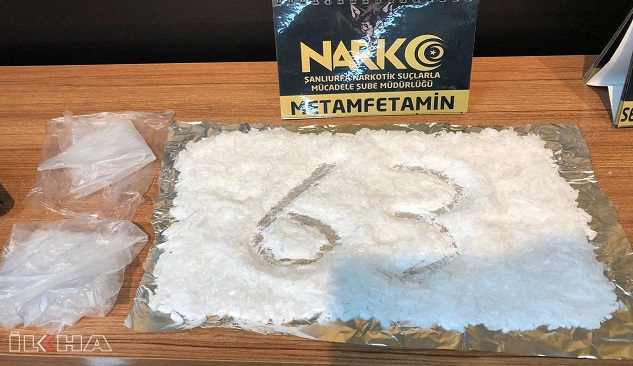 Siverek'te uyuşturucu operasyonu: 23 tutuklama