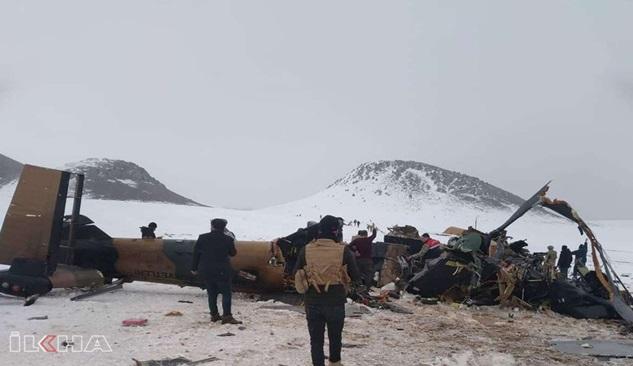 Helikopter kazasında hayatını kaybedenlerin sayısı 11'e yükseldi