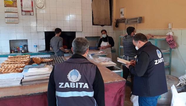 Siverek'te zabıta ekipleri Coronavirus denetimlerini sürdürüyor