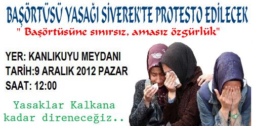 BAŞÖRTÜ YASAĞI 22 STK TARAFINDAN PROTESTO EDİLECEK