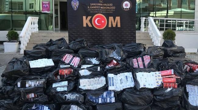 Kaçakçılık ve organize suçlardan 124 kişi tutuklandı
