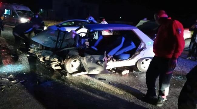 Şanlıurfa'daki trafik kazasında 2 kişi yaralandı