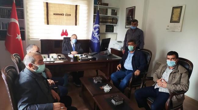 Siverek Halid Bin Velid Camii Türk Diyanet Vakfına devredildi