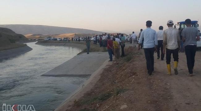 Sulama kanalına düşen çocuklardan biri öldü 2 çocuk halen aranıyor