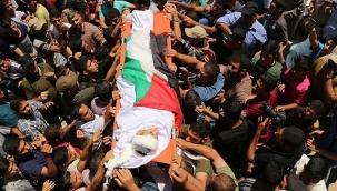 Filistin'de şehid sayısı 213'e yükseldi