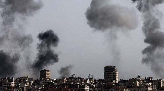 israil gece boyunca Gazze'ye saldırdı: Şehid sayısı 139'a yükseldi