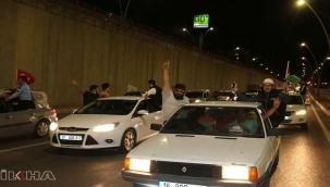 Şanlıurfa'dan Filistin'e konvoy eşliğinde destek