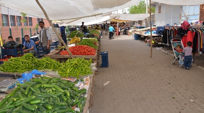 Siverek'te yarın  (Cumartesi) kurulacak semt pazarları belirlendi