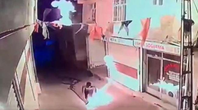 AK Parti Hani ilçe binasına saldırı