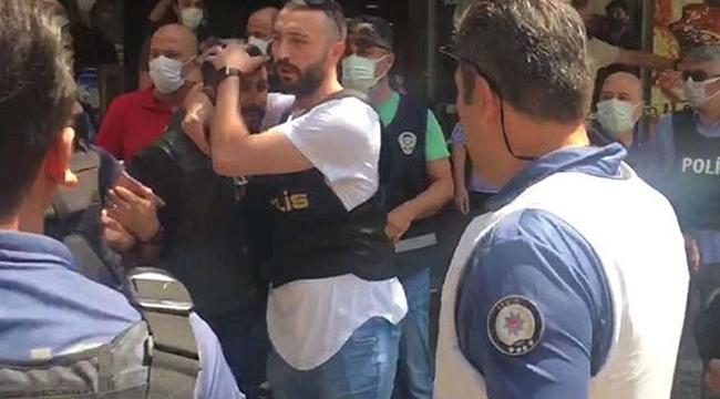 HDP binasına giren şahıs dehşet saçtı: Bir ölü