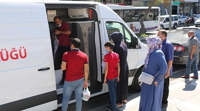Şanlıurfa'da mobil aşı istasyonu kuruldu