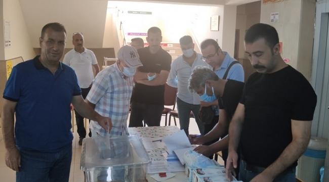 Siverek'te İLKSAN seçimleri başladı