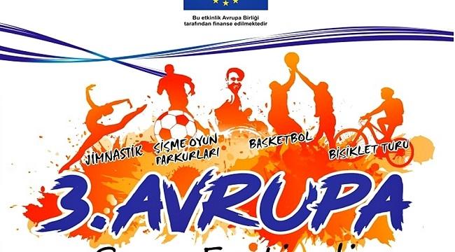 3. Avrupa Spor Festivali Şanlıurfa'da gerçekleştirilecek