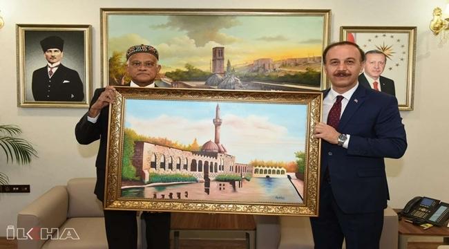 Bangladeş Ankara Büyükelçisi Mannan, Şanlıurfa Valisini Ziyaret Etti