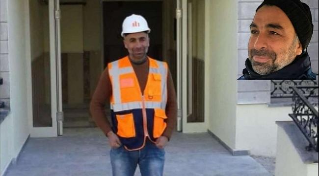 İnşaat demirinin altında kalan inşaat işçisi hayatını kaybetti