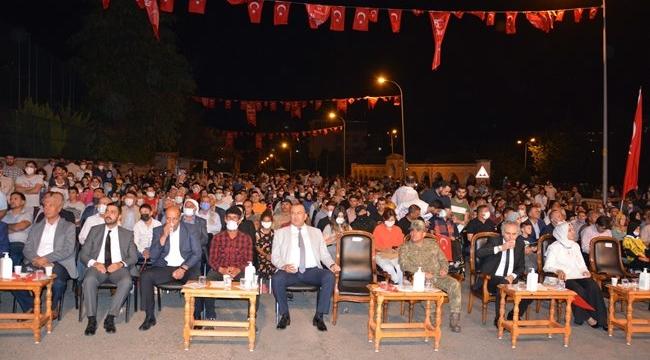 """Siverek'te """"15 Temmuz Demokrasi ve Milli Birlik Günü"""" kutlandı"""
