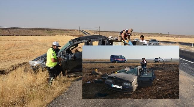 Siverek'te iki ayrı kazada 4 ölü, 6 yaralı