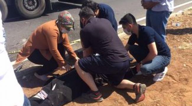 Siverek- Urfa yolunda trafik kazası: 1 ölü 2 yaralı
