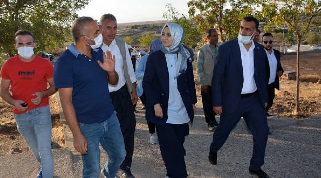 Başkan Ayşe Çakmak Erkonağı kırsal Mahallesi'ni ziyaret etti
