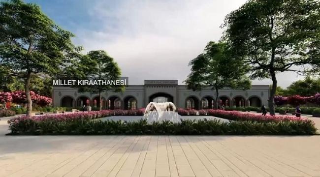 Eyyübiye'de millet bahçesinin yapımı sürüyor