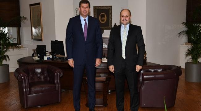 Gülpınar, Kadıköy Belediye Başkanı Odabaşı'nı ziyaret etti